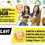 Promo Paket Internet Im3 Gratis 4,8 GB