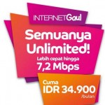 Paket Internet Axis Unlimited 34 Ribu Sebulan
