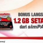 Gratis Internet 1,5 GB Setahun dari Perdana Simpati Active