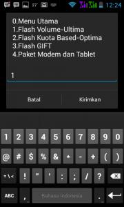 pilih flash volume-Ultima