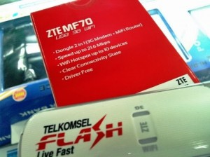 Modem Flash Telkomsel