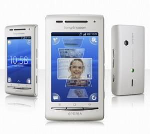 Harga Sony Ericsson E15i Xperia X8