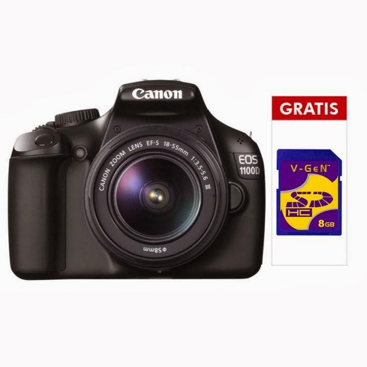 Harga kamera Canon slr EOS 1100DC