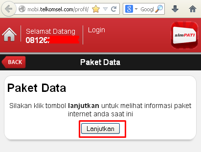 Cek Kuota Paket As Internet
