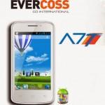 Harga EverCoss A7T Januari 2014 dan Spesifikasi Lengkap