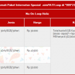 Tips Daftar Paket Internet Simpati 10GB Murah