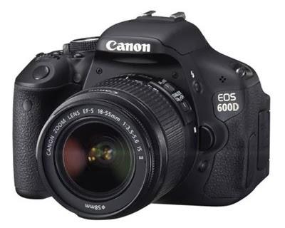 kamera dslr canon eos 600d kit1