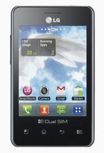 Harga LG Optimus L3 dual E405